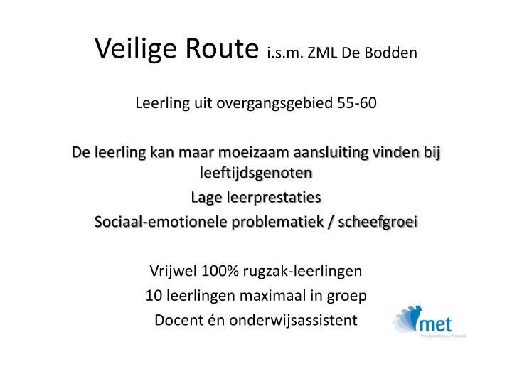 Veilige Route