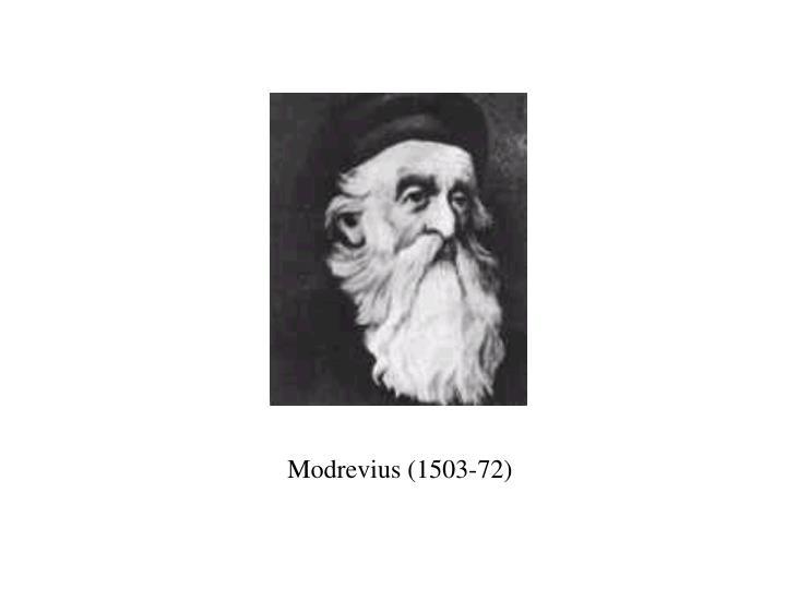 Modrevius (1503-72)