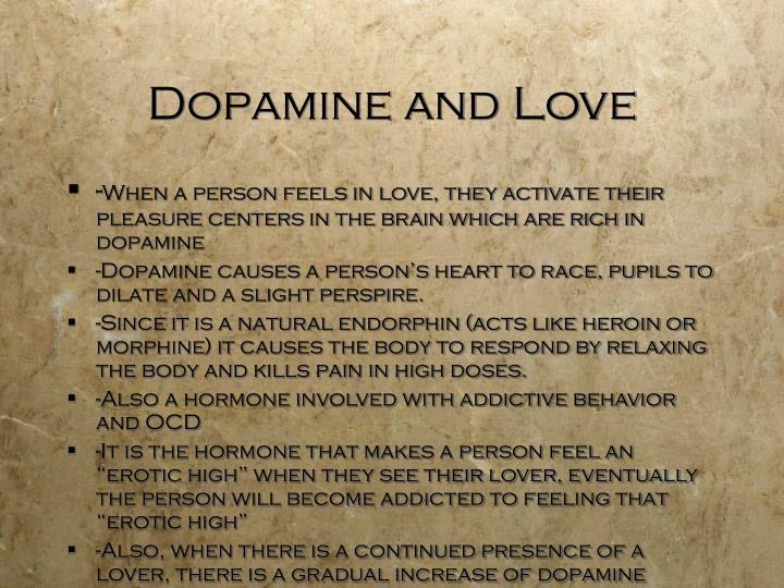 Dopamine and Love