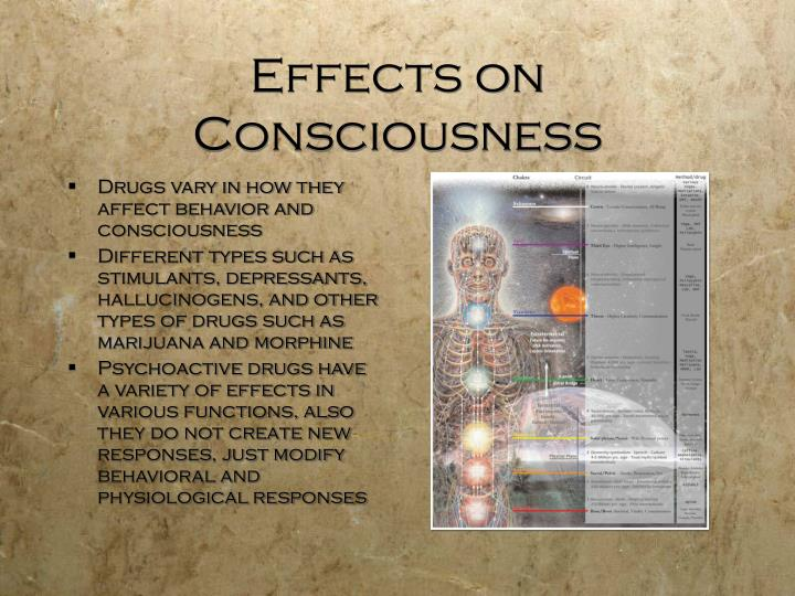 Effects on Consciousness