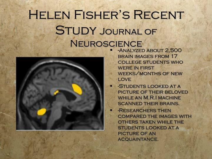 Helen Fisher's Recent Study