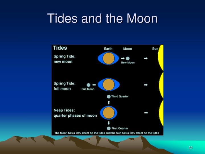 Tides and the Moon
