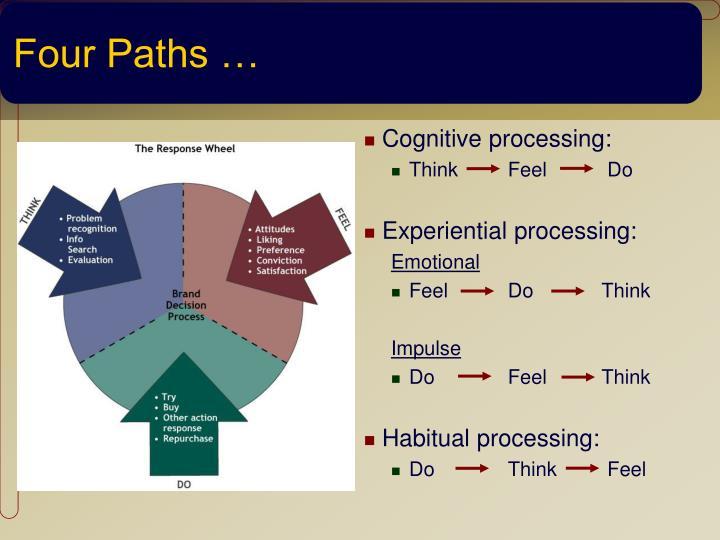 Four Paths …