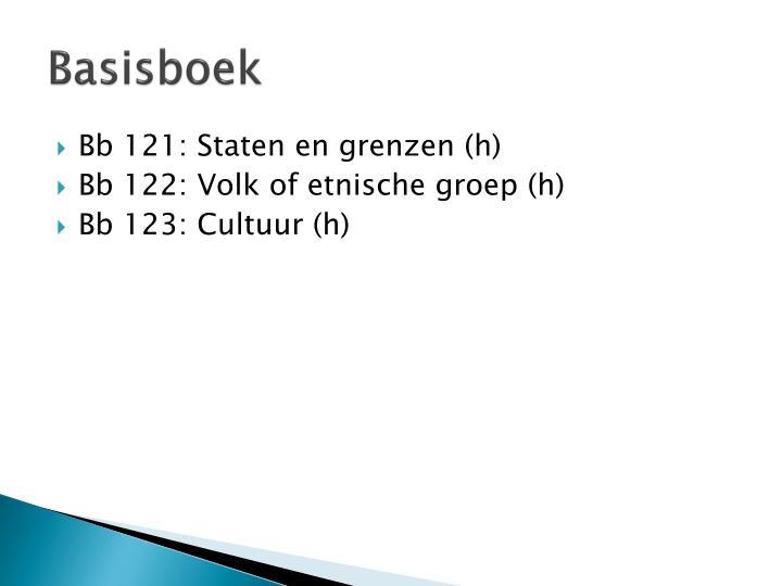 Basisboek