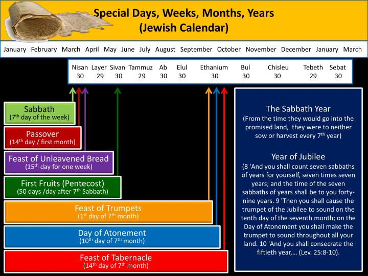Special Days, Weeks, Months, Years