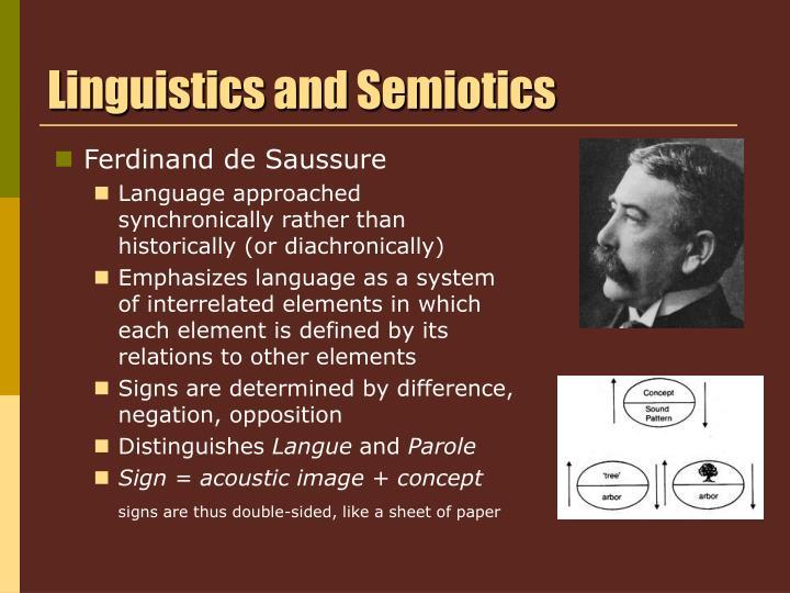Linguistics and Semiotics