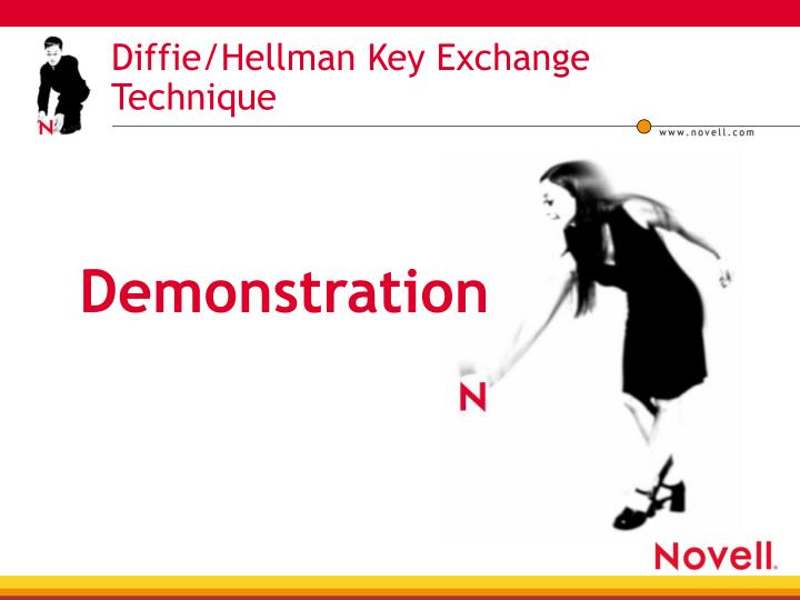 Diffie/Hellman Key Exchange Technique