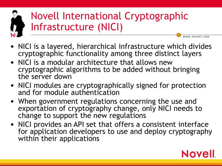 Novell International Cryptographic Infrastructure (NICI)