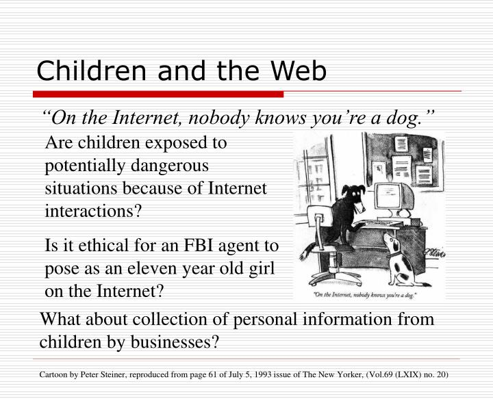Children and the Web