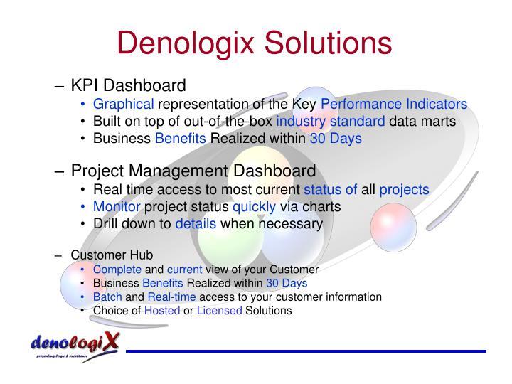 Denologix Solutions