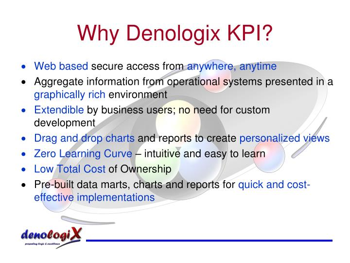 Why Denologix KPI?