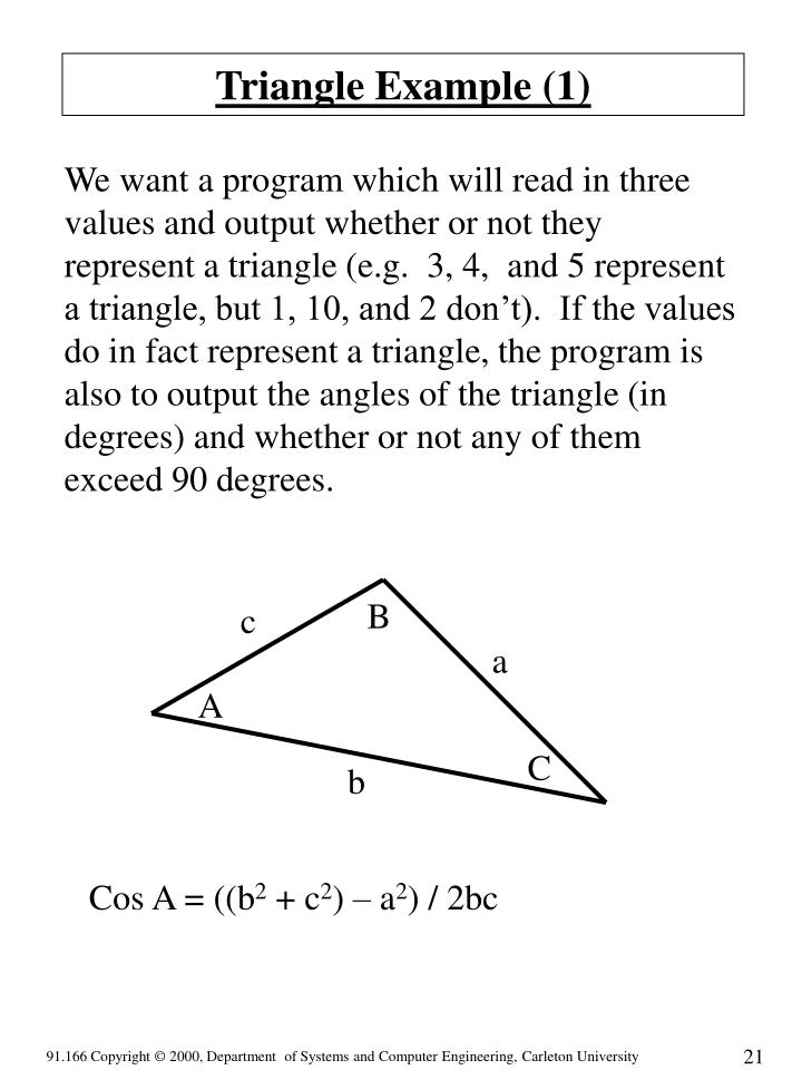 Triangle Example (1)