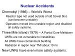 nuclear accidents