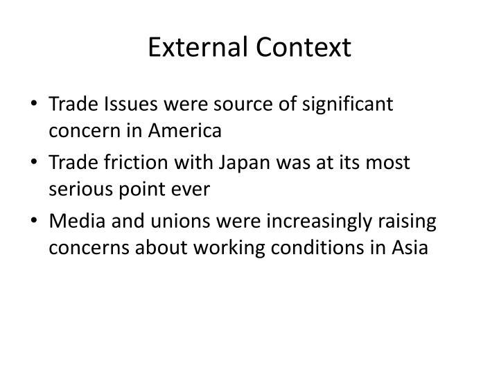 External Context