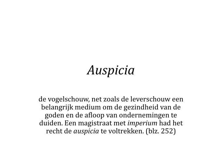 Auspicia
