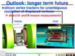 outlook longer term future