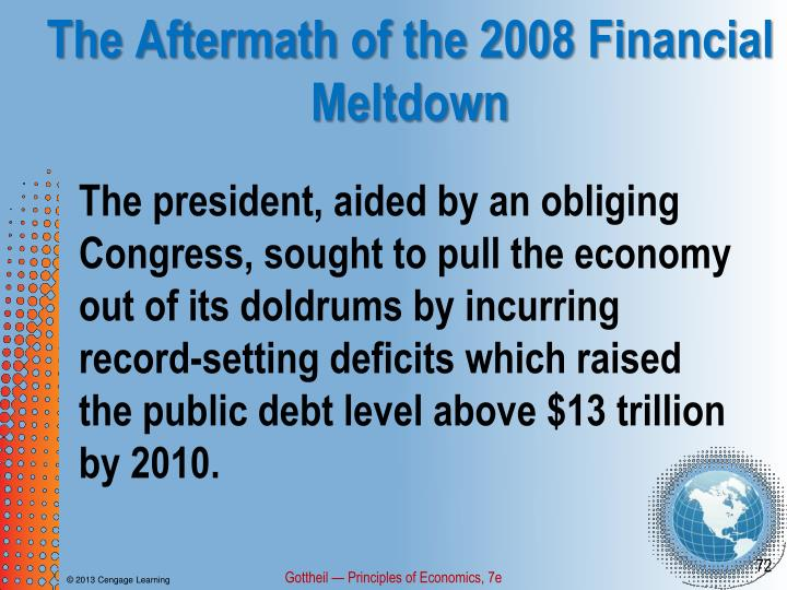 The Aftermath of the 2008 Financial