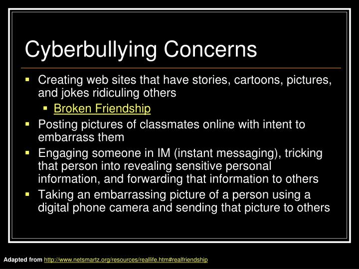 Cyberbullying Concerns