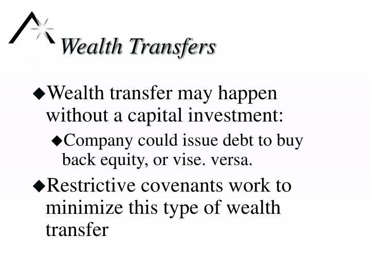 Wealth transfers