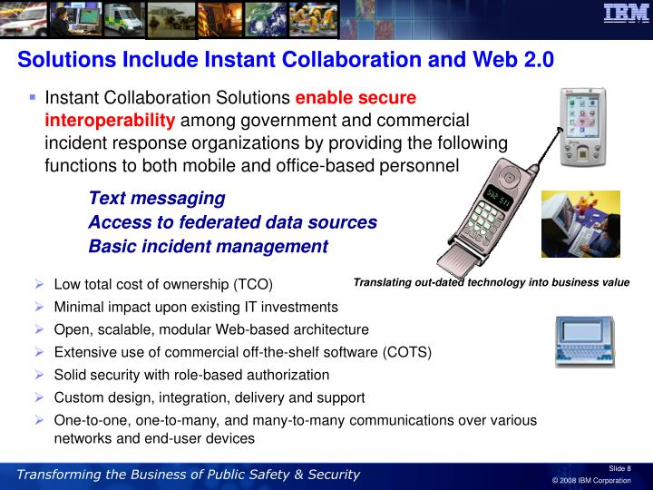 Solutions Include Instant Collaboration and Web 2.0