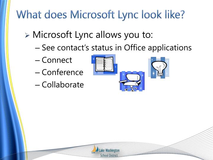 What does microsoft lync look like