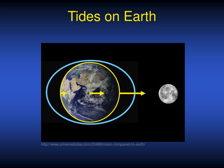 Tides on Earth