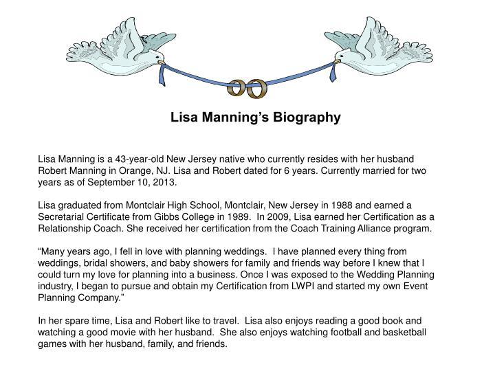 Lisa Manning's Biography