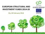 european structural and investment funds 2014 20 ely 28 february 2014