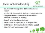 social inclusion funding