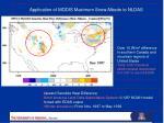 application of modis maximum snow albedo to nldas