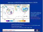 application of modis maximum snow albedo to nldas1