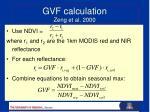 gvf calculation zeng et al 20001