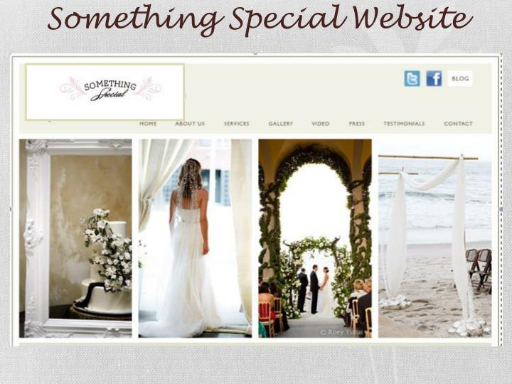 Something Special Website