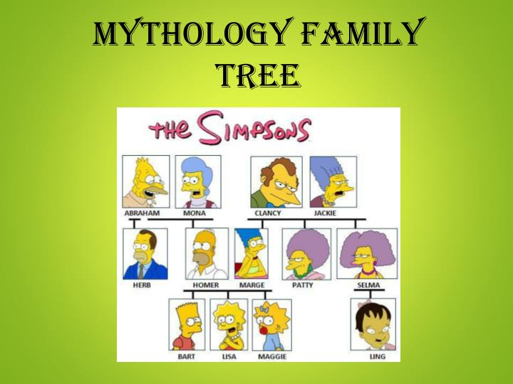 Ppt Mythology Family Tree Powerpoint Presentation Free