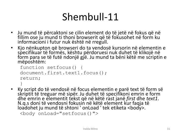 Shembull-11