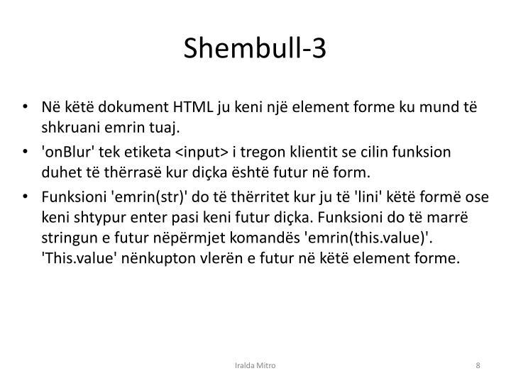 Shembull-3