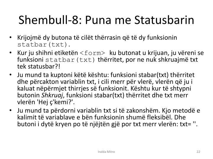 Shembull-8: