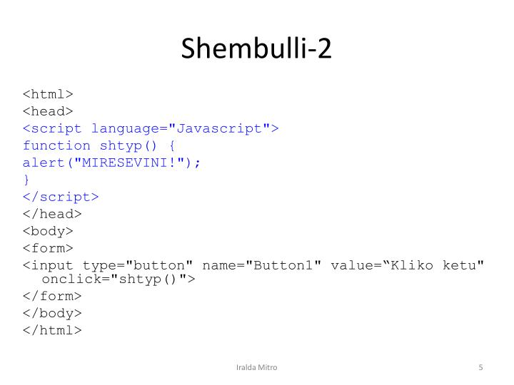 Shembulli-2