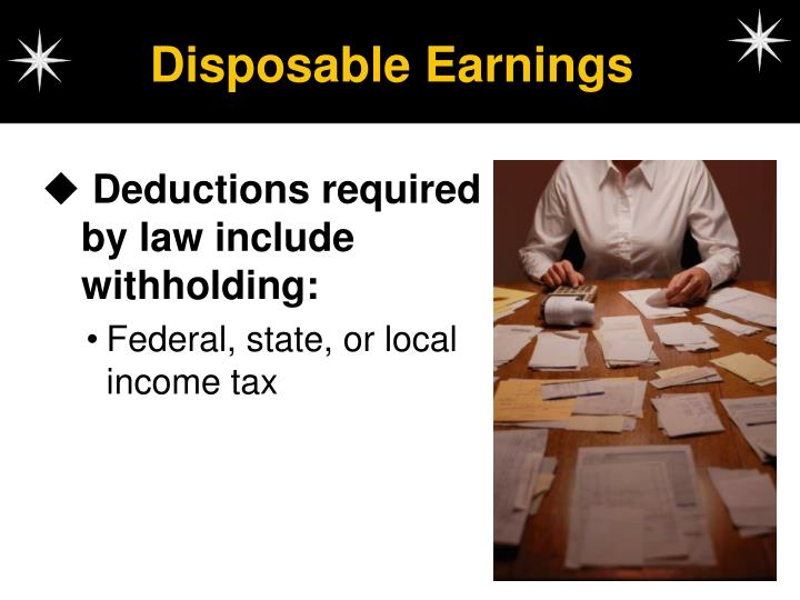 Disposable Earnings