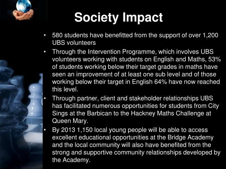 Society Impact