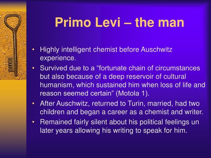Primo levi the man1