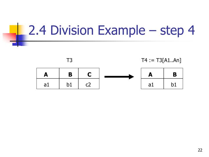 2.4 Division Example – step 4