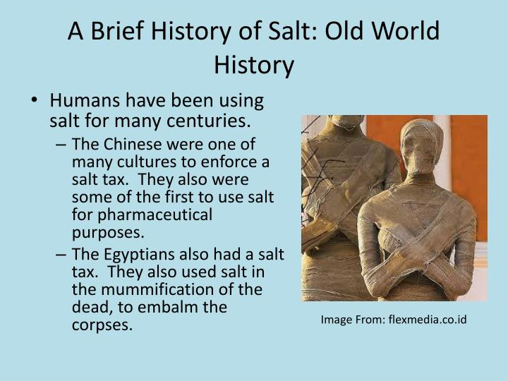 A Brief History of Salt: Old World History