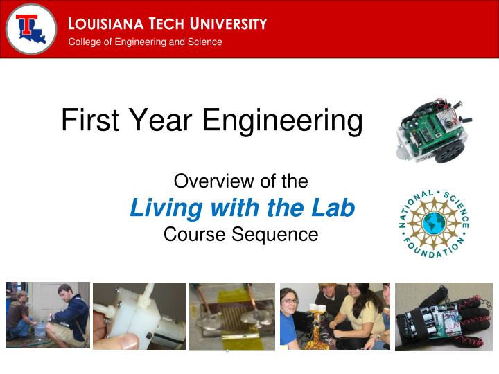 First year engineering