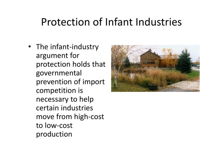 Protection of Infant Industries