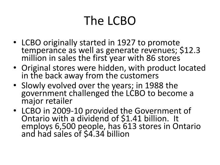 The LCBO