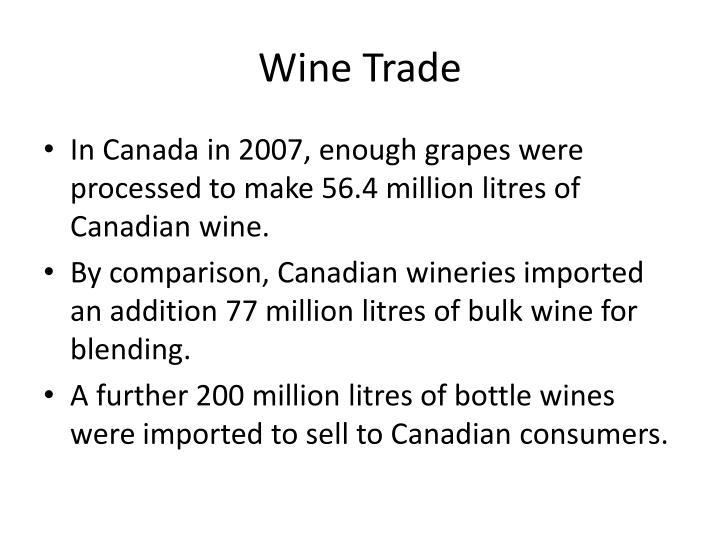 Wine Trade