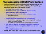 flux assessment draft plan surface1
