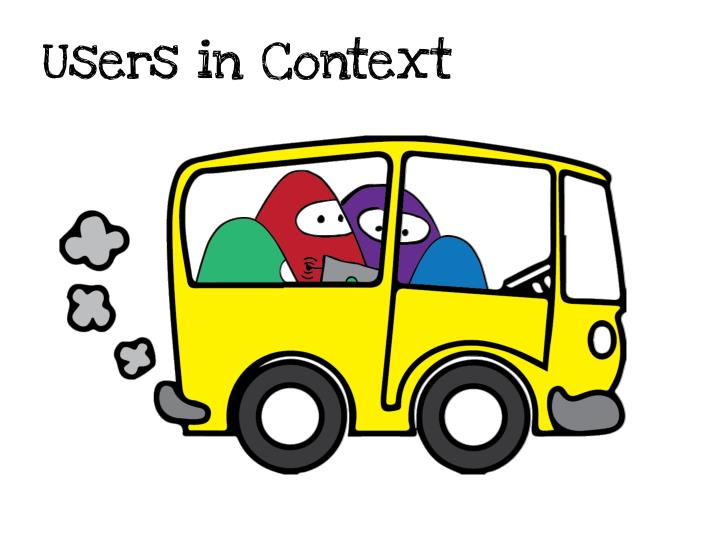 Users in context