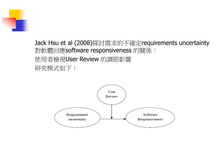 Jack Hsu et al (2008)